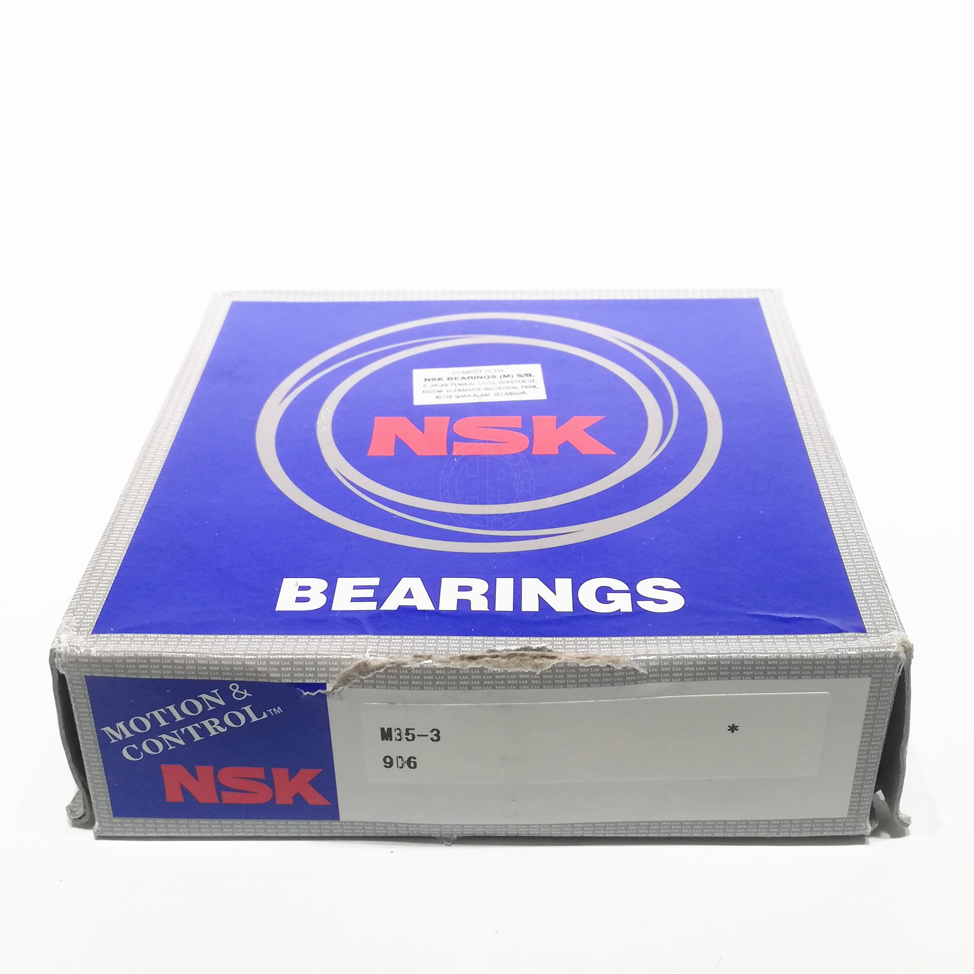 Nsk Gear Box Bearings M35-3 35x95x27